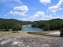 Le lac de la Cavayère