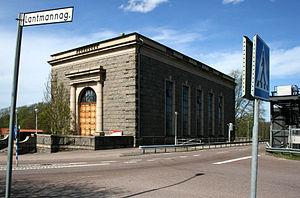 Laholm Municipality - Image: Laholmskraftverk