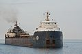 Lake freighter Algosoo enters Duluth Ship Canal - Minnesota, USA - 10 July 2012 - (1).jpg