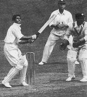 Lala Amarnath - Amarnath batting at Lord's in 1936