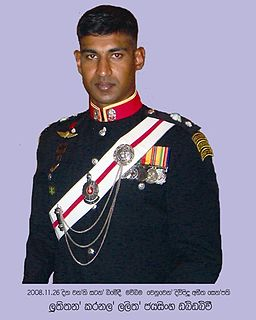 Lalith Jayasinghe Sri Lankan Army officer