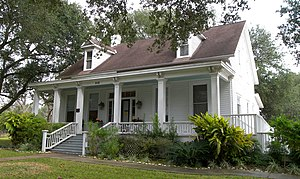 National Register of Historic Places listings in Fort Bend County, Texas - Image: Lamar calder house 2008