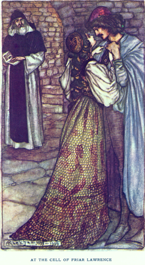 Tales from Shakespeare - Romeo and Juliet, Arthur Rackham