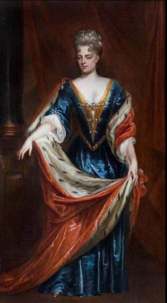 Landgravine Marie Louise of Hesse-Kassel - Portrait by Lancelot Volders, c. 1710