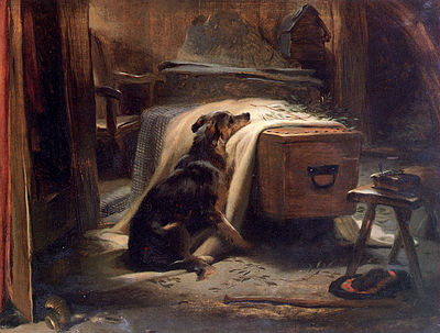 Landseer Edwin-Old Shepherds Chief Mourner 1837.jpg