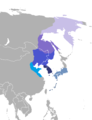 Languages during the Yamato era (Amur-Buyeo languages).png