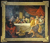 Last Supper - 1787 CE - Johann Zoffany - St Johns Church - Kolkata 2015-05-09 6650.JPG