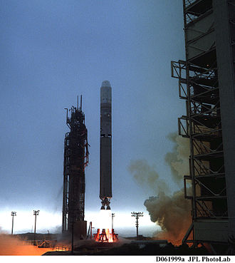 QuikSCAT - Launch of the Titan II on June 19, 1999