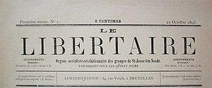 Le Libertaire - Image: Le Libertaire (Belgique)