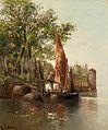 Lea von Littrow In der Lagune von Venedig.jpg