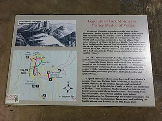 Madoc - Fort Mountain State Park: Legends at Fort Mountain – Prince Madoc of Wales