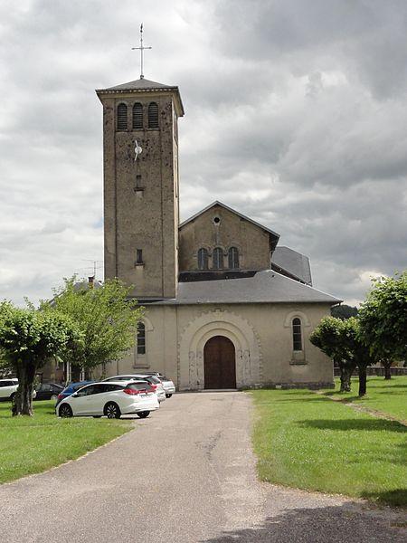 Leintrey (M-et-M) église