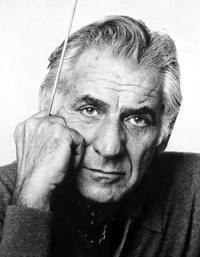 Picture of a band or musician: Leonard Bernstein