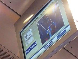 Leonardo Express - LCD display
