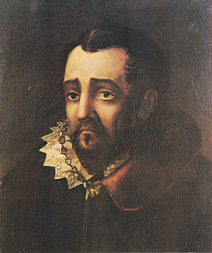 "Francisco Gómez de Sandoval, 1st Duke of Lerma - Fictional ""Duke of Lerma"", painting by Mikhail Lermontov"