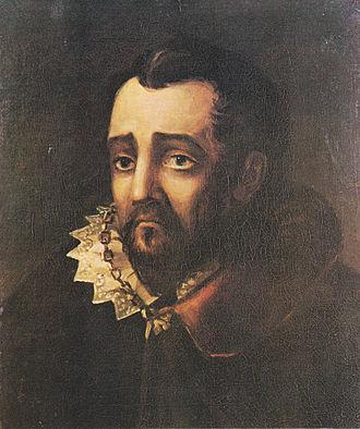 "Francisco Gómez de Sandoval, 1st Duke of Lerma - Fictional ""Duke of Lerma"", painting by Mikhail Lermontov"