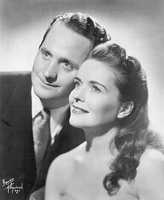 Mary Ford - Mary Ford and Les Paul in 1953