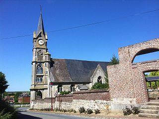 Lesdain Commune in Hauts-de-France, France