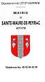 Lettre Sainte-Maure-de-Peyriac Blason.jpg