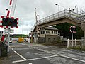 Level crossing and signal box, Ferryside - geograph.org.uk - 1154697.jpg