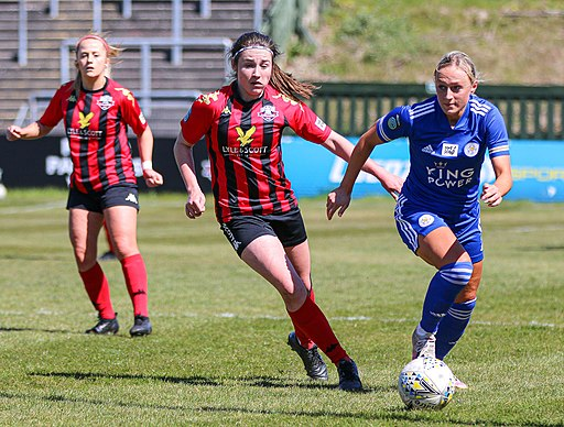 Lewes FC Women playing Leicester City Women