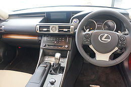 Lexus IS300h 2013 japan intera.JPG