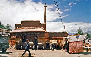 Foreign relations of Tibet - Lhasa Zhol Rdo-rings pillar 1993