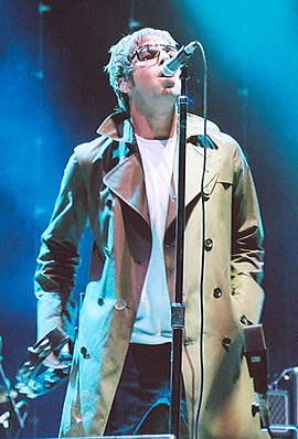 Liam Gallagher în San Diego, 2005.