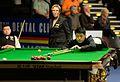 Liang Wenbo, Li Hang and Hilde Moens at Snooker German Masters (DerHexer) 2015-02-05 01.jpg