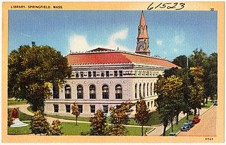 Quadrangle (Springfield, Massachusetts) - Library, 1930s