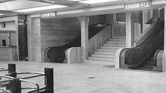 Line C (Buenos Aires Underground) - Image: Line C exit