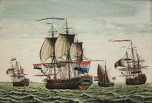 Admiralty of Friesland - The Friso, a ship of the Frisian Admiralty