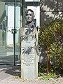 Lippstadt – Denkmal - Martin Niemöller – ev. Theologe und Widerstandskämpfer - panoramio.jpg