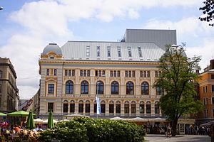 Kaļķu iela - Image: Liv square Riga