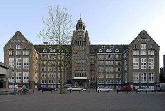 Eastern Docklands - The Lloyd Hotel in 2006.