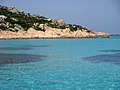 Lo splendido mare turchese dell'Arcipelago della Maddalena.JPG