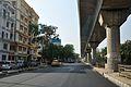 Local Main Road - Water Tank 10 Area - Salt Lake City - Kolkata 2013-04-10 7706.JPG