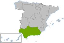 Andalucía en España