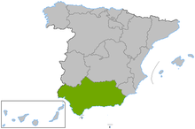 Carte Littoral Andalousie.Geographie De L Andalousie Wikipedia