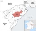 Locator map of Kanton Besançon-6 2019.png