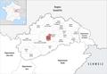 Locator map of Kanton Vesoul-1 2019.png
