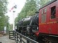 Locomotive 80135 departs Goathland for Grosmont - geograph.org.uk - 1448661.jpg