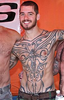 Logan McCree German pornographic actor (born 1977)