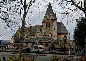 St Mark's Church, Silvertown - Image: London, Silvertown, former St Mark's church
