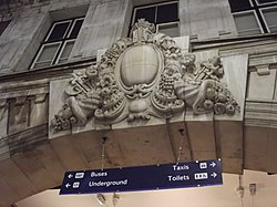 London Victoria Station - coat of arms (8103908106).jpg