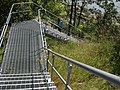 Long steel stairway to shoreline path. INFO IN PANORAMIO DESCRIPTION - panoramio.jpg
