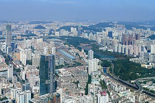 Longgang District, Shenzhen District in Guangdong, Peoples Republic of China