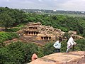 Looking onto the Udayagiri caves from Khandagiri, in Bhubaneswar.jpg