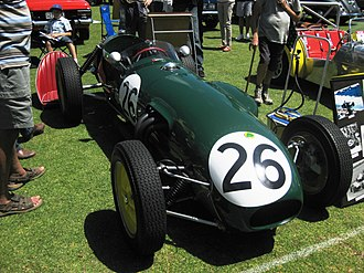 Lotus 12 - Image: Lotus 12 Chassis No 353 of 1958