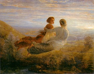 <i>The Poem of the Soul</i> painting series by Louis Janmot